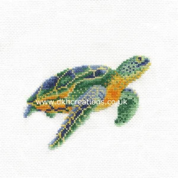 Tranquil Turtle Hoop Cross Stitch Kit